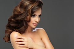 Beautiful sexy brunette woman Royalty Free Stock Images