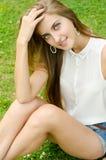 Beautiful sexy caucasian woman Stock Images