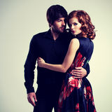 Beautiful sexy couple in love. Stock Images