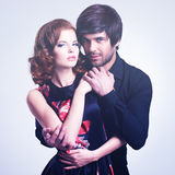 Beautiful sexy couple in love. Royalty Free Stock Photos