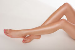 Beautiful sexy female legs Royalty Free Stock Photos