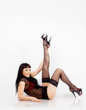 Beautiful sexy girl portrait Stock Photos