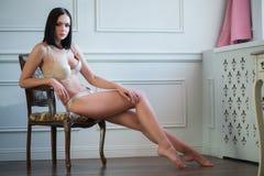 beautiful and sexy lady Stock Photo