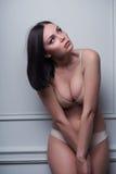 beautiful and sexy lady Royalty Free Stock Photo