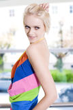 Beautiful modern woman royalty free stock photo