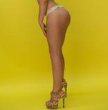 Beautiful sexy naked woman's legs Stock Photo