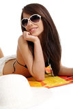 Beautiful sexy summer woman Stock Photography