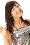 Beautiful woman dancing Stock Images