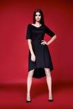 Beautiful woman dress clothes collection catalogue Stock Photo