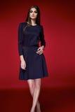 Beautiful woman dress clothes collection catalogue Royalty Free Stock Photos