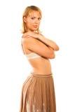 Beautiful sexy young woman Stock Photos