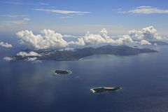Beautiful Seychelles in the Indian Ocean Royalty Free Stock Image