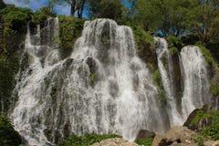 Shaki waterfall royalty free stock photo