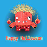 The beautiful of shalloween Stock Images