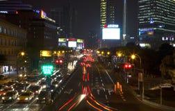 Beautiful Shanghai night Royalty Free Stock Photo
