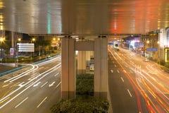 Beautiful Shanghai night Royalty Free Stock Images