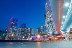 Beautiful of shanghai night scene Royalty Free Stock Photos