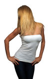 Beautiful, Shapely Blonde (2) Stock Image