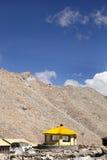 A beautiful shelter at Chang la (Pass) Royalty Free Stock Images