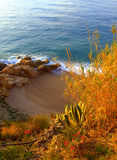 Beautiful sheltered beach,Spain Royalty Free Stock Photography