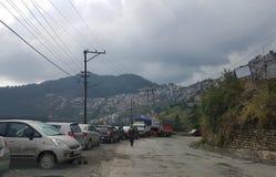 Beautiful shimla view royalty free stock image