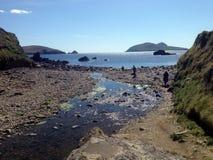 Beal Atha Beach on the Dingle Peninsula stock photography