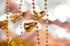 Beautiful shining Christmas ornaments Stock Photos