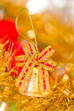 Beautiful shining Christmas ornaments Stock Photo