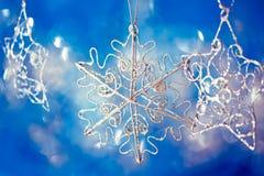 Beautiful shining Christmas ornaments Royalty Free Stock Photography