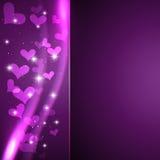 Beautiful shiny heart Stock Image
