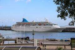 Beautiful Ships and Cruise Liners Stock Photography