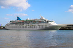 Beautiful Ships and Cruise Liners Stock Photo