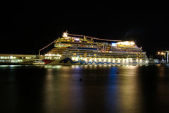 Beautiful Ships and Cruise Liners Royalty Free Stock Photos