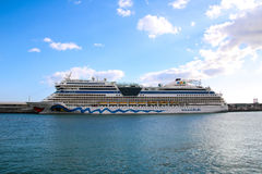 Beautiful Ships and Cruise Liners Royalty Free Stock Photo