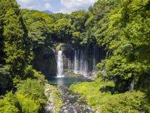 The beautiful Shiraito Falls Stock Images