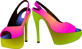 Beautiful shoes Stock Photo