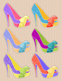 Beautiful shoes Royalty Free Stock Image