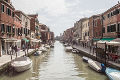 Portrait of Murano, Venice royalty free stock photography