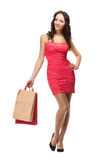 Beautiful Shopper Stock Photo