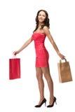 Beautiful Shopper Royalty Free Stock Image
