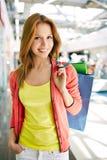 Beautiful shopper Stock Photography
