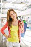 Beautiful shopper Stock Photo