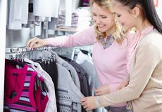 Beautiful shoppers Royalty Free Stock Images
