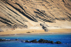 Beautiful shore of the Galapagos, Ecuador Stock Image