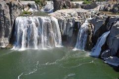 Beautiful Shoshone Falls in Idaho, USA Royalty Free Stock Image