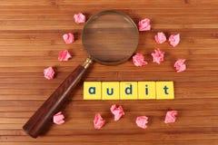Audit stock image