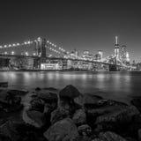 Beautiful shot of Brooklyn Bridge Royalty Free Stock Photography