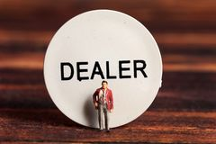 Dealer royalty free stock photography