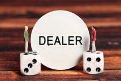 Dealer royalty free stock image