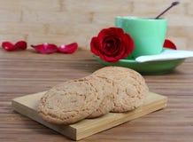Coconut biscuits Stock Photos